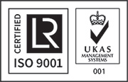 ISO 9001 UKAS certified